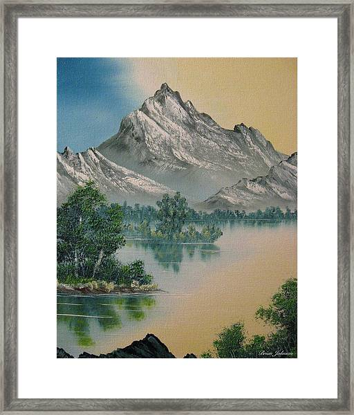 Warm Feelings Framed Print