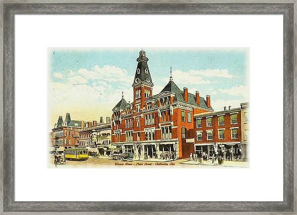 Warner House - Chillicothe Ohio Framed Print
