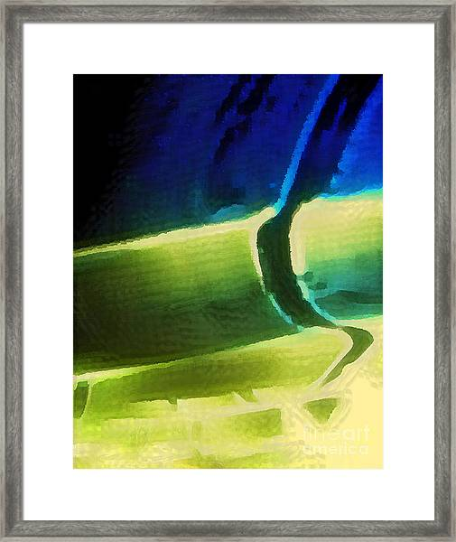 Warped And Rolled Framed Print