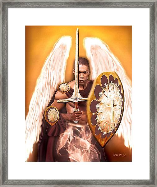 Warrior Angel Framed Print