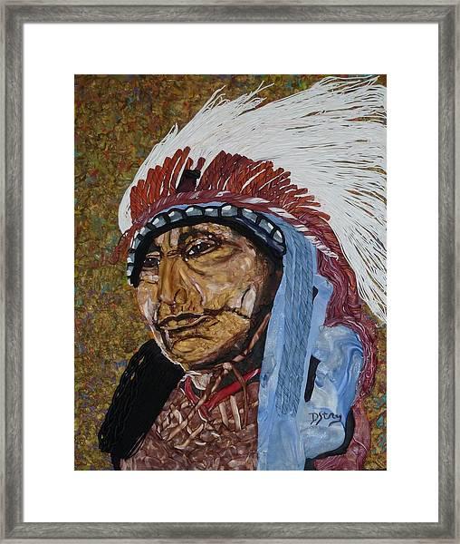 Warrior Chief Framed Print