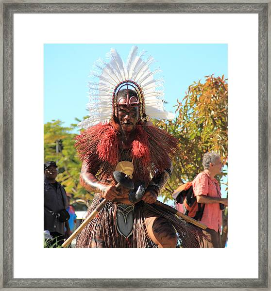 Framed Print featuring the photograph Warrior by Debbie Cundy