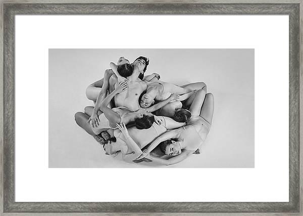 Warsaw Ballet Framed Print