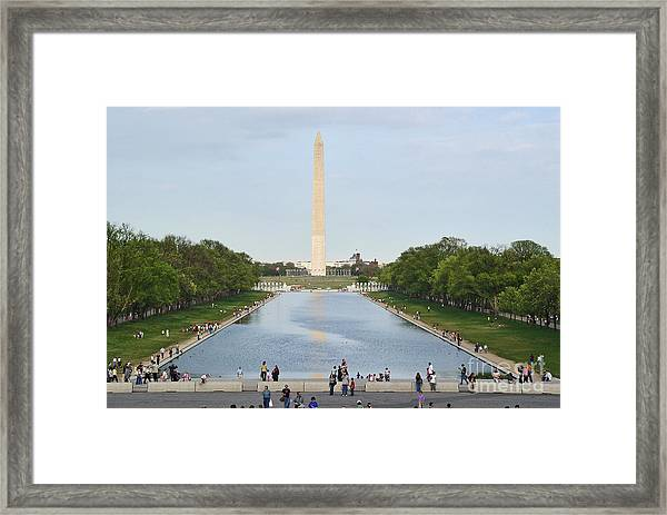 Washington Monument 1 Framed Print