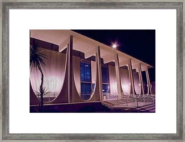 Washington Mutual Building Palm Springs Framed Print