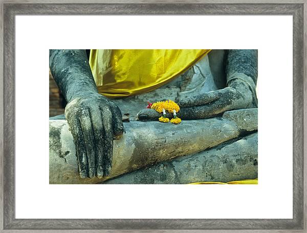 Wat  Mahathat Framed Print