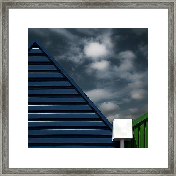 Water Collector Framed Print