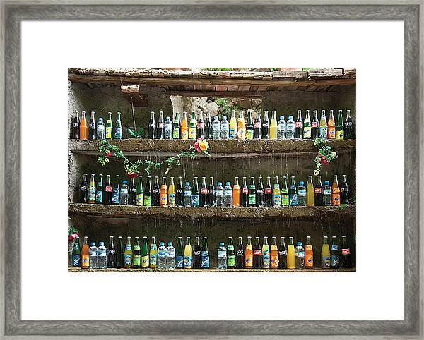 Water Cooled Framed Print