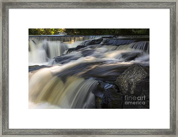 Water Paths Framed Print