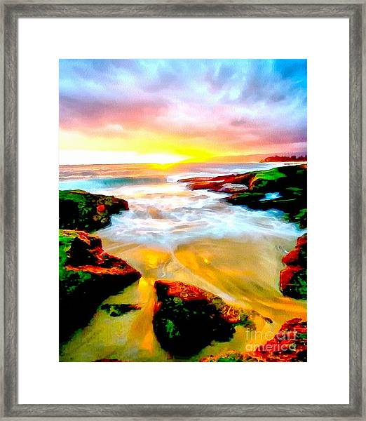 Water Runs To It Framed Print