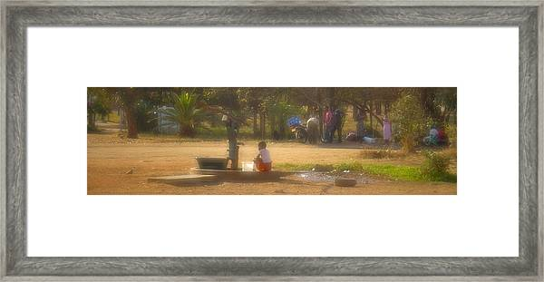 Water Works Framed Print
