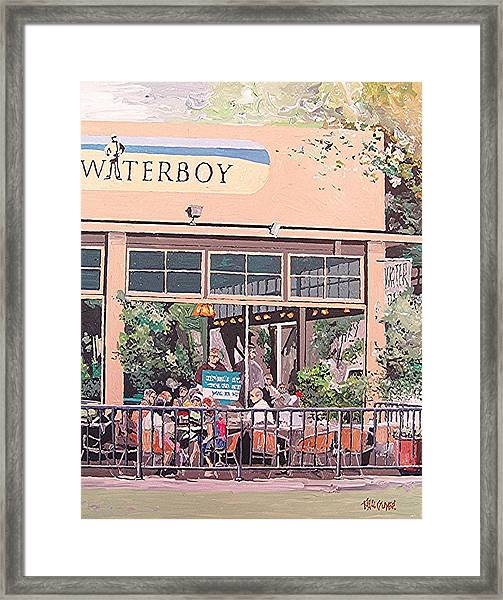 Waterboy Framed Print by Paul Guyer