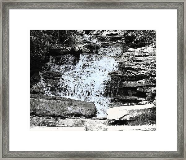 Waterfall 3 Framed Print