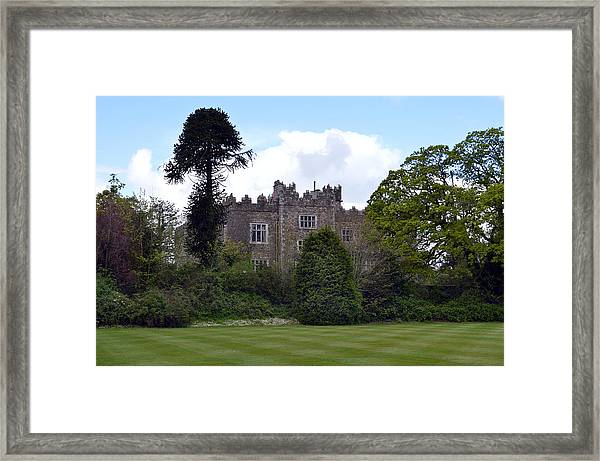 Waterford Castle Ireland. Framed Print by Terence Davis