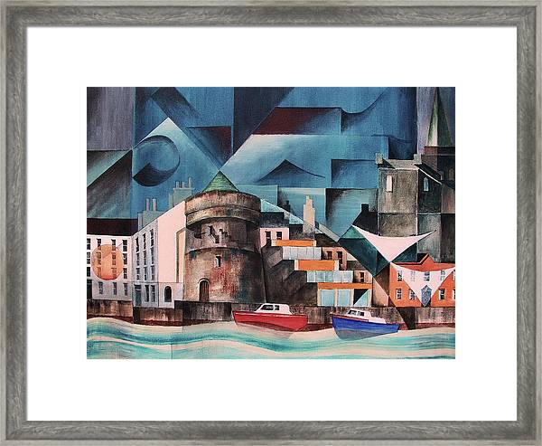Waterford Quays Framed Print