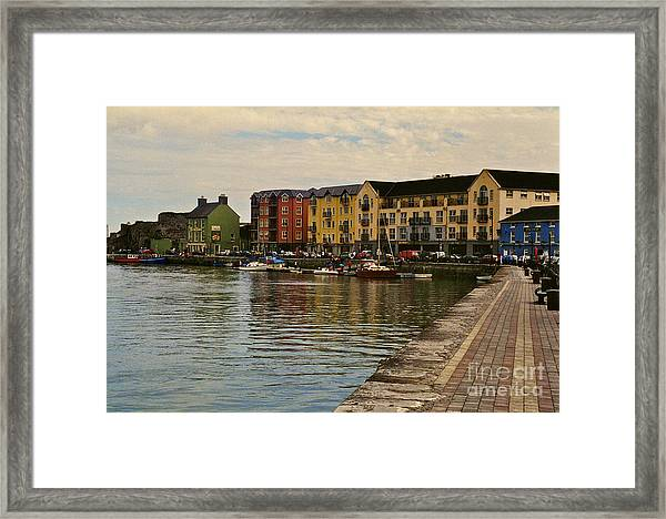 Waterford Waterfront Framed Print