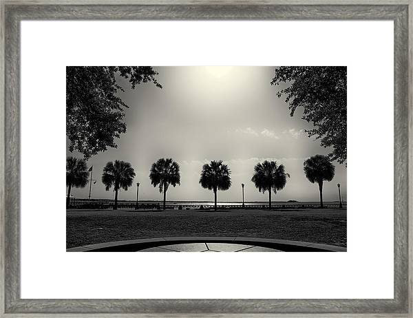 Waterfront Park Framed Print