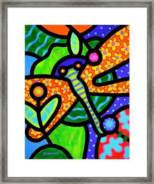 Watergarden Framed Print