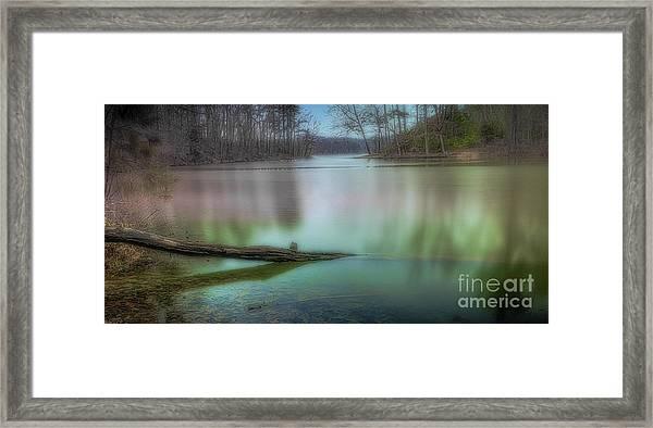 Waterlogged Pe Framed Print