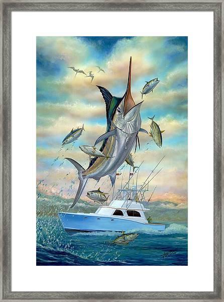 Waterman Framed Print