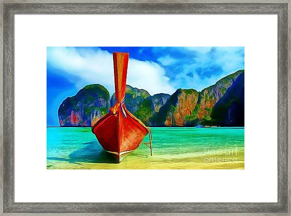 Watermarked-a Dreamy Version Collection Framed Print