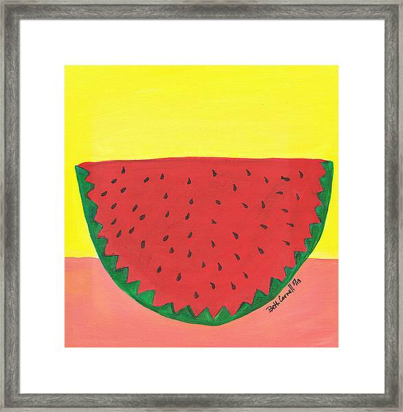 Watermelon 1 Framed Print