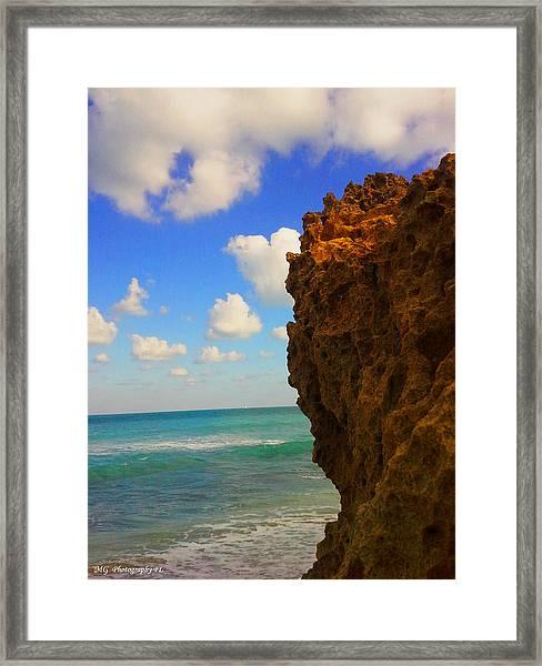 Water's Edge Framed Print