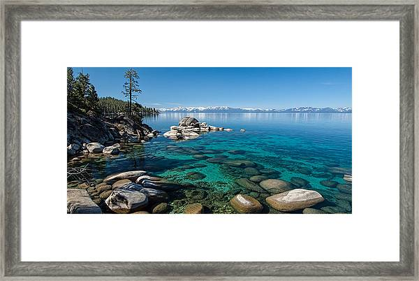 Waterscape P5127093 Framed Print