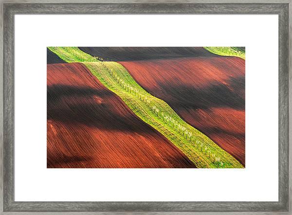 Waterslide Framed Print by Jan ?m?d, Qep