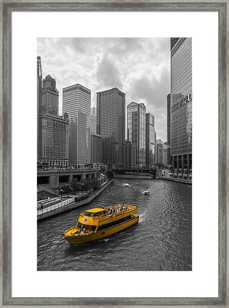 Watertaxi Framed Print by Clay Townsend