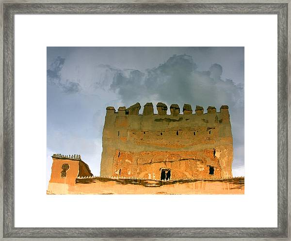 Watery Alhambra Framed Print