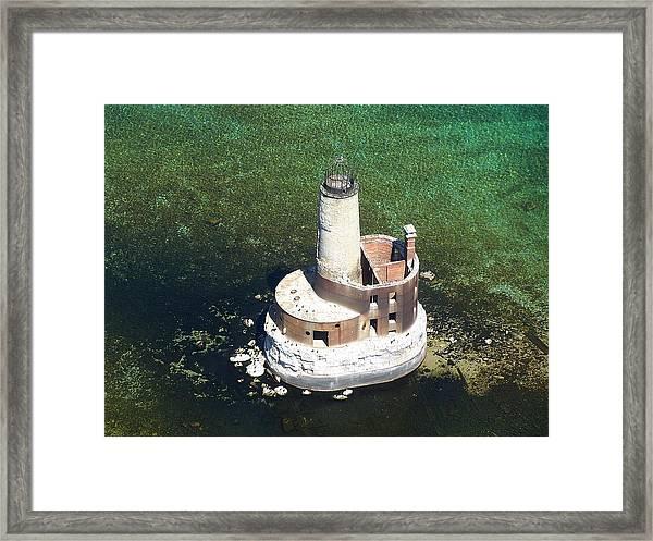 Waugoshance Lighthouse Framed Print