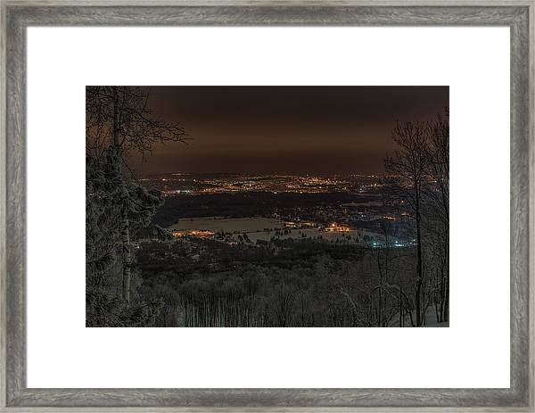 Wausau From On High Framed Print