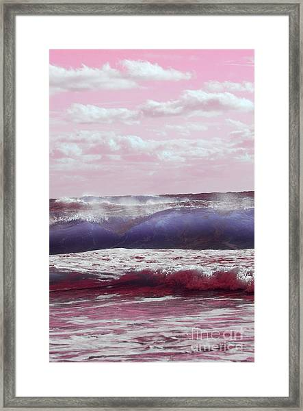Wave Formation 2 Framed Print