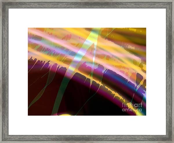 Wave Light Framed Print