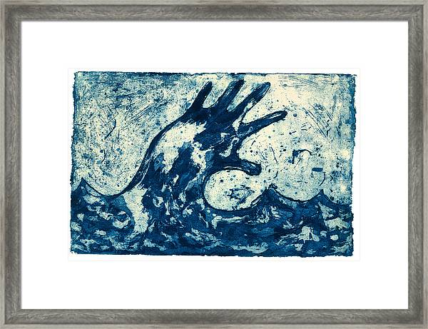 Wave Framed Print by Tim Southall