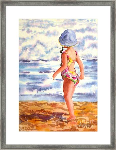 Wave Watch Framed Print