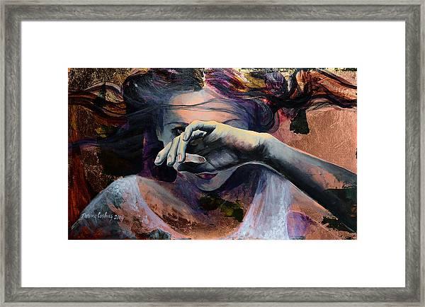 Wavering... Framed Print