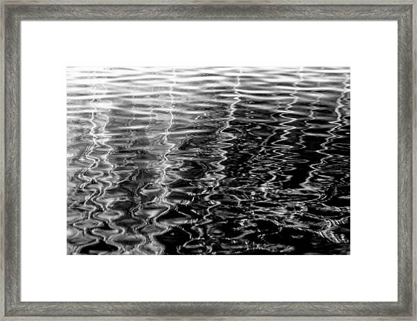 Wavy Framed Print
