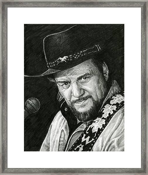 Waylon Framed Print