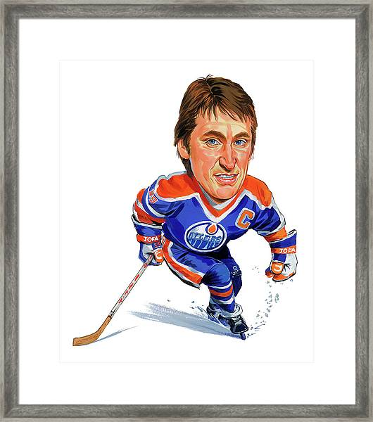 Wayne Gretzky Framed Print