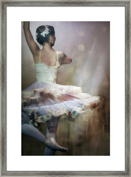 We Danced To A Whispered Voice... Framed Print