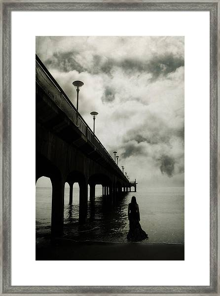 We Who Fell In Love With The Sea Framed Print