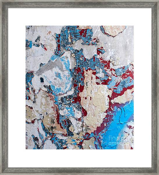 Weathered Wall 02 Framed Print