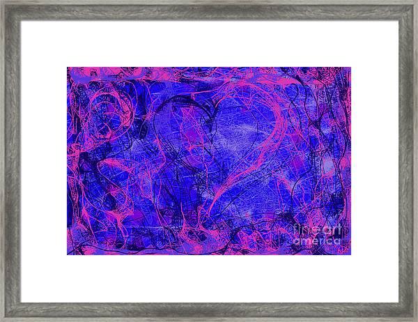 Web Of Love V Framed Print