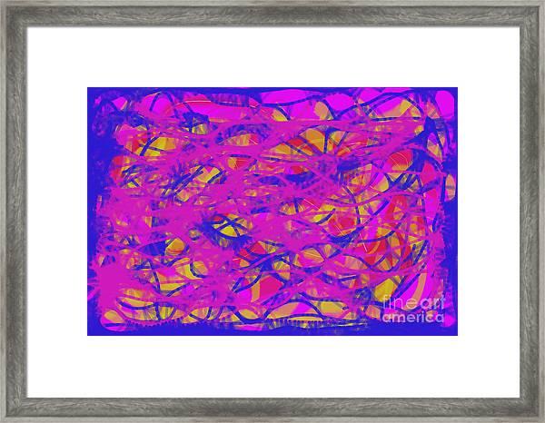 Web Of Love Viii Framed Print