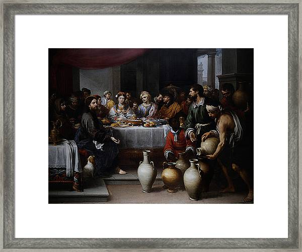 Wedding At Cana Framed Print