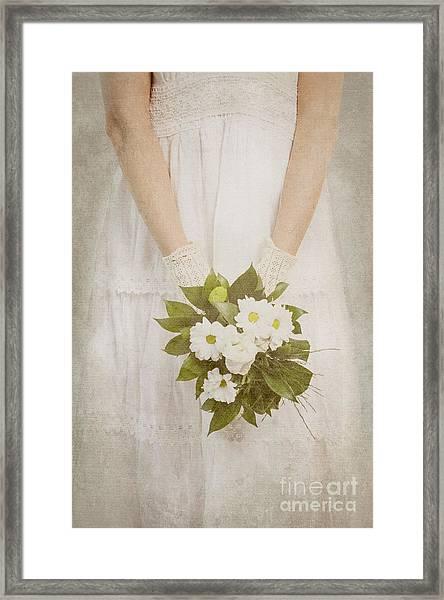 Wedding Bouquet Framed Print