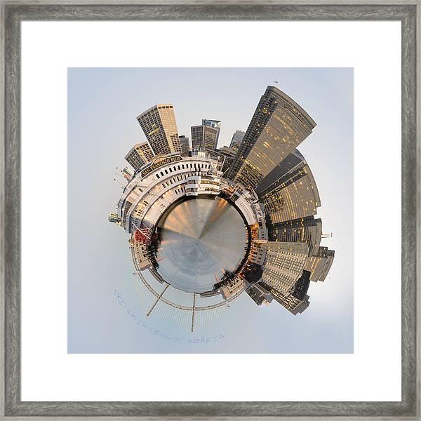 Wee San Francisco Planet Framed Print