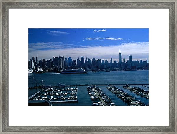 Weehawken Is The New Jersey Home Of The Framed Print